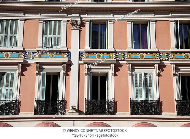 Architecture, Place d Armes, Monaco, Cote d Azur, Mediterranean, Europe