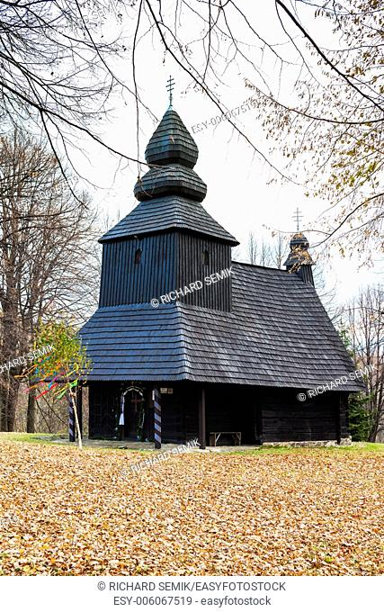 wooden church, Ruska Bystra, Slovakia