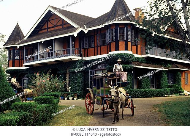Myanmar, Maymyo, Candacraig hotel