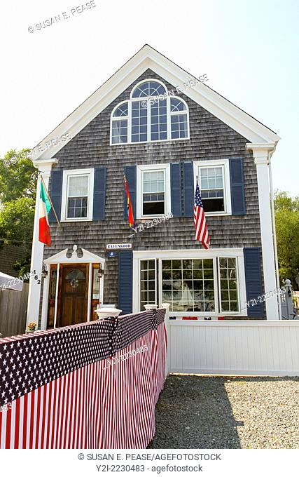 A home in Provincetown, Massachusetts, USA