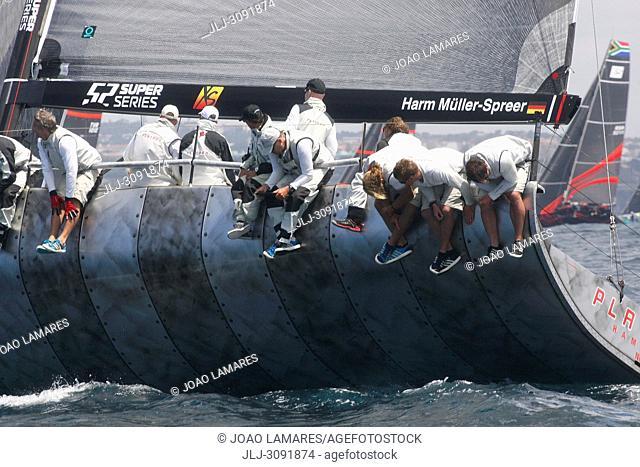 Platoon, #02, Owner: Har Muller-Spreer, Sail nr: GER52, Yacht Club NRV Hamburg, Builder: Premier Composite Technologies Dubais; Rolex TP 52 World Championship