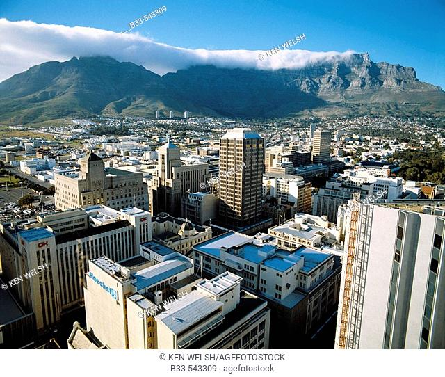 City centre, Cape Town. South Africa
