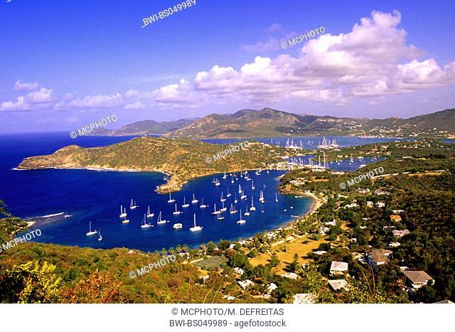 Antigua - view on Tobago, Trinidad and Tobago