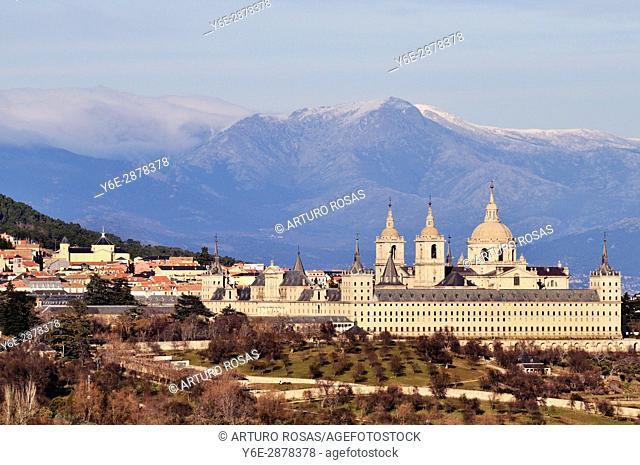 Monastery of San Lorenzo de El Escorial. Madrid, Spain