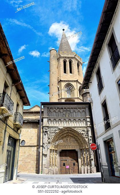 Church of Santa Maria la Real, Sanguesa, Navarra, Spain
