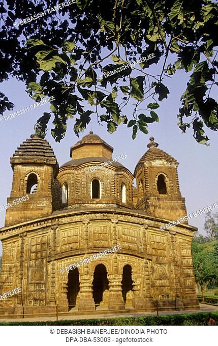 Terracotta Shyam Rai temple ; Bishnupur ; west Bengal ; India