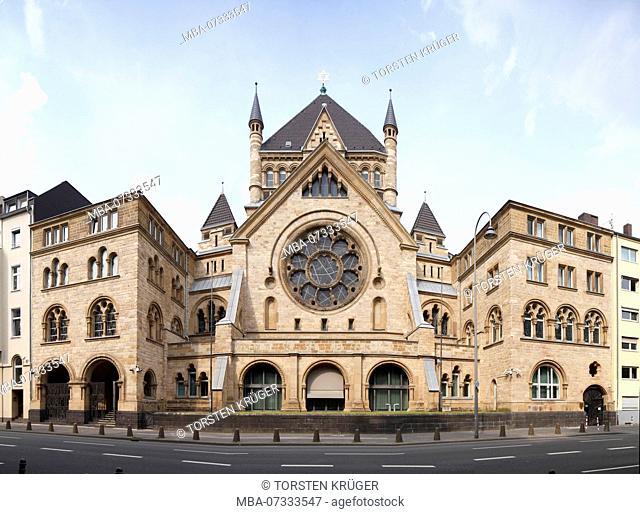 Synagogue, Cologne, North Rhine-Westphalia, Germany