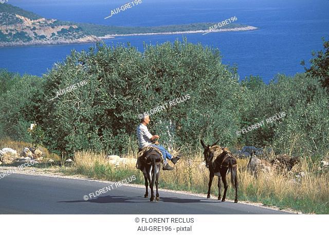 Greece - The Pelonnese - Nauplie Road - Leonidio