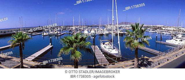 Marina, Marina Rubicon, Playa Blanca, Lanzarote, Canary Islands, Spain, Europe