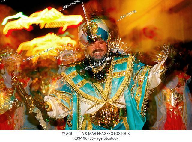 'Moros y cristianos', local festival. Monforte del Cid. Alicante province. Spain