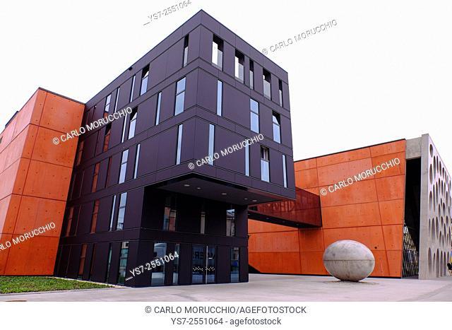 New Theatre Building, Pilsen, Western Bohemia, Czech Republic, Europe