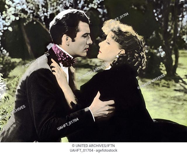 Camille, USA 1937, aka: Die Kameliendame, Regie: George Cukor, Darsteller: Greta Garbo, Robert Taylor