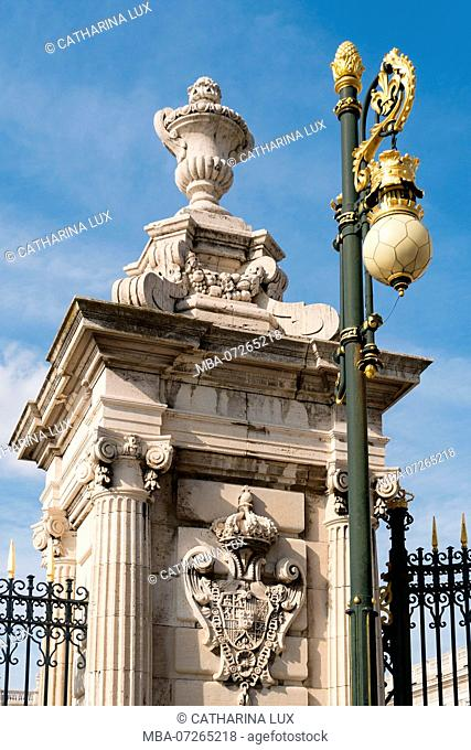 Madrid, Palacio Real, Royal Palace, Plaza de la Armeria, Portal