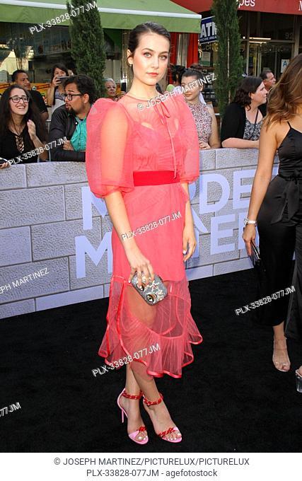 "Emma Fuhrmann at Netflix's """"Murder Mystery"""" Premiere held at the Regency Village Theater, Los Angeles, CA, June 10, 2019"