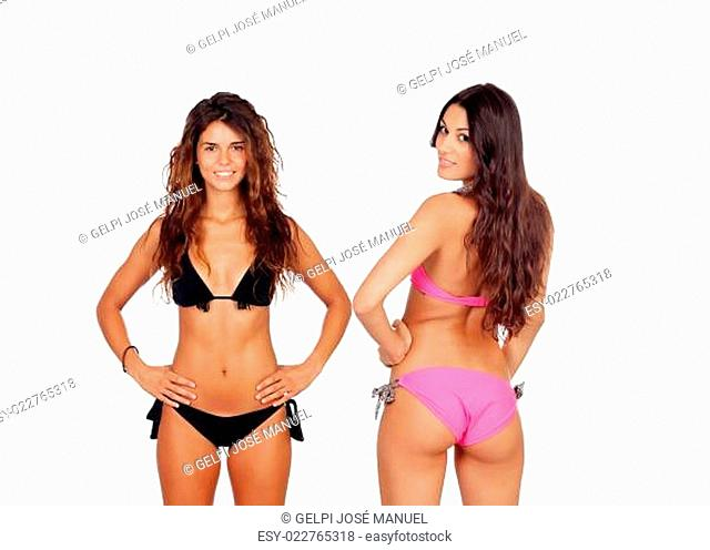 Attractive women in bikini