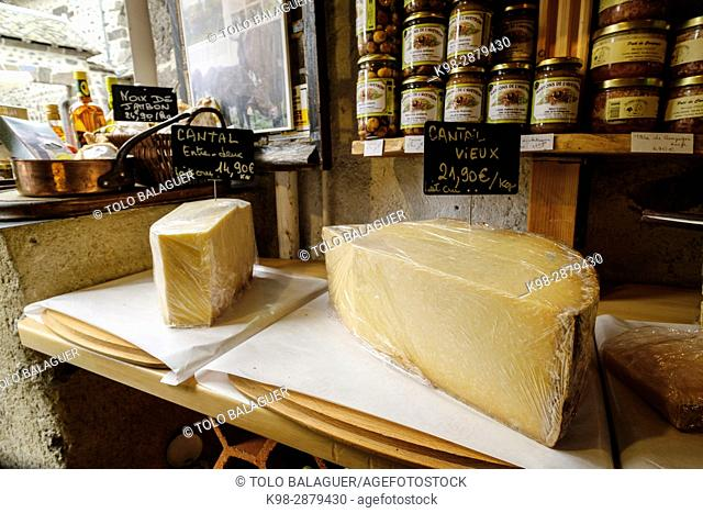 Queso Cantal, Auvernia, France,Western Europe
