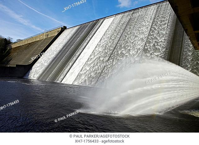 Llys-y-Fran Reservoir and Dam, West Wales, UK