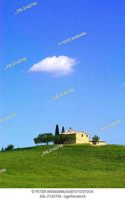 Italy Tuscany scenery idyll