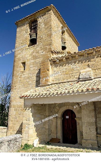 Purificacion church in Zuazu village  Izagaondoa valley, Navarre, Spain