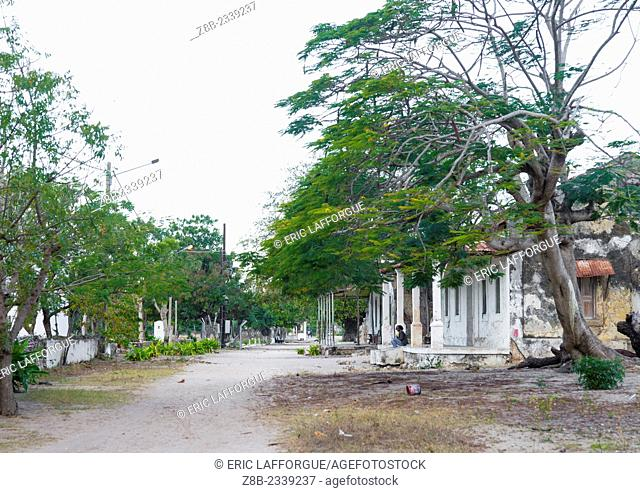 Old Portuguese Colonial Houses, Ibo Island, Mozambique