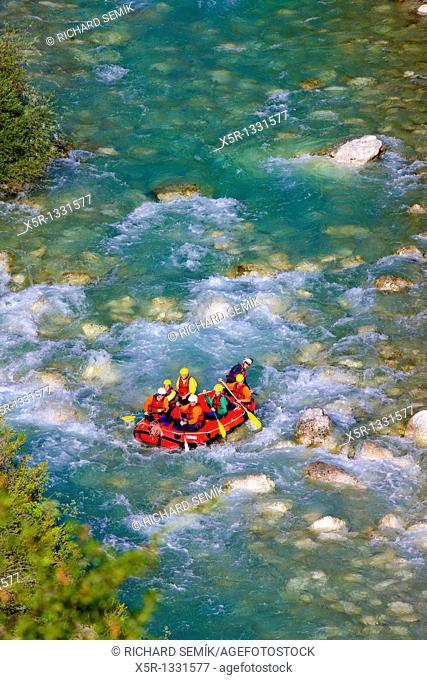 rafting, Verdon Gorge, Provence, France