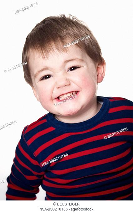 laughing boy, two years