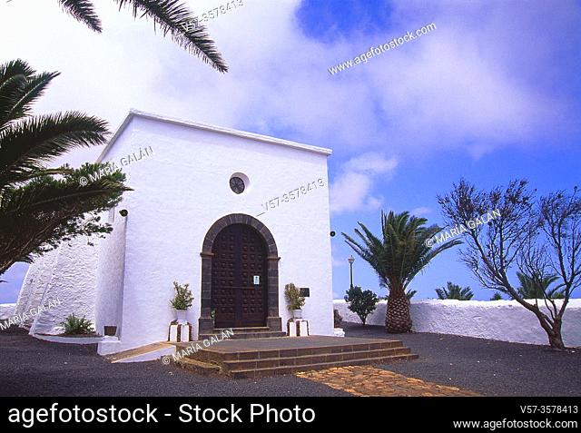 Las Nieves sanctuary. Lanzarote, Canary Islands, Spain