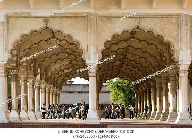 archway in Agra Fort, Agra, Uttar Pradesh, India