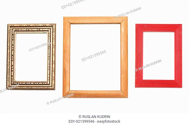 Three frames for photography