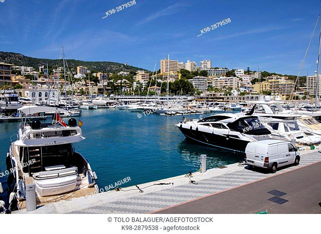 puerto deportivo Cala Nova, Cala Major, Palma, Mallorca, balearic islands, spain, europe