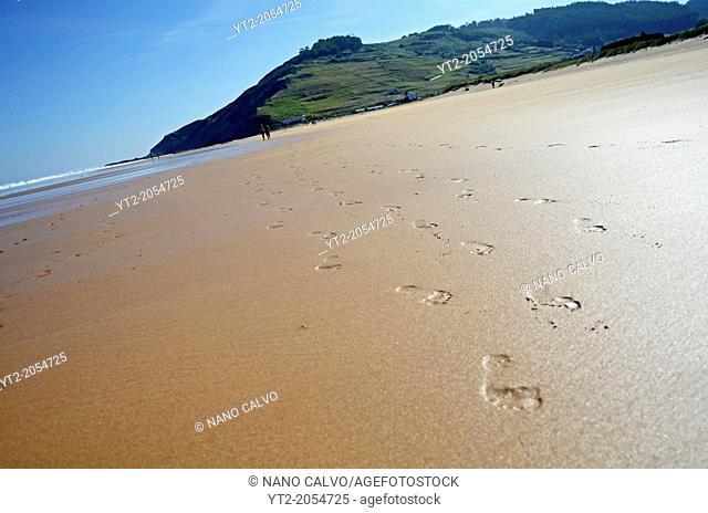 Vega Beach (Playa de Vega), Ribadesella, Asturias