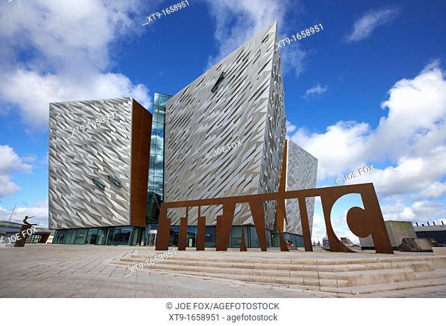 titanic signature building museum titanic quarter belfast northern ireland