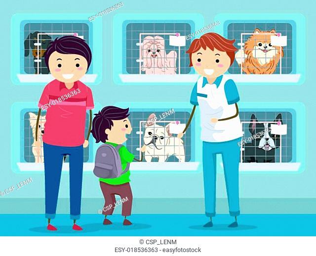 Dog Shelter Visit