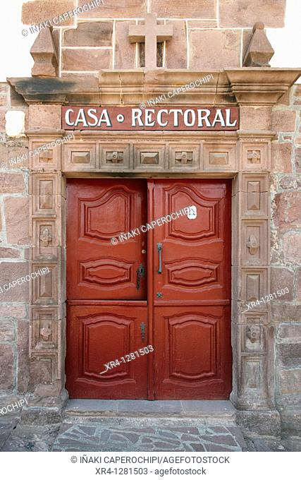 Rectory house, Errazu Baztan,Baztan Valley, Navarra Nafarroa, Spain España