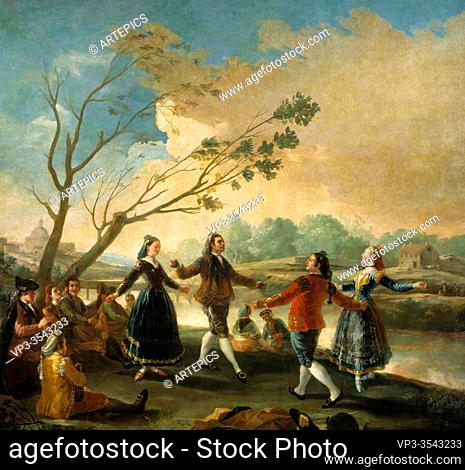 Francisco De Goya - Dance on the Banks of the Manzanares