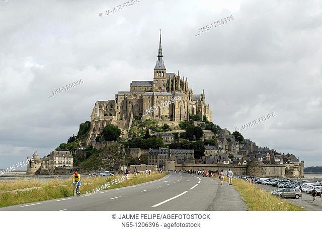 Mont Saint-Michel, la Manche, Basse Normandie, France