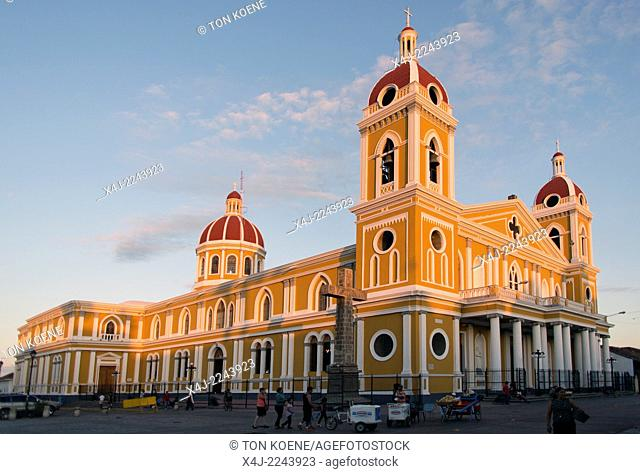 Granada's cathedral, nicaragua