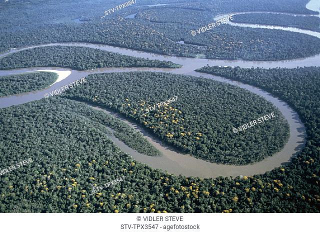 Aerial view, Amazon, Brazil, Holiday, Jungle, Landmark, River, Tourism, Travel, Vacation
