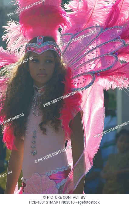St Martin, carnival parade