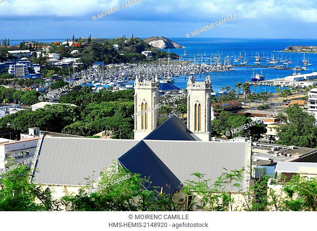 France, New Caledonia, Grande-Terre, Southern Province, Noumea, Moselle Bay