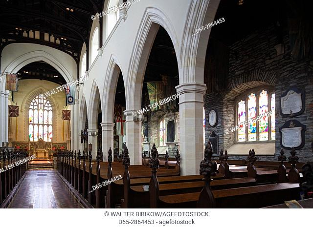 UK, Northern Ireland, County Londonderry, Derry, St. Columb's Cathedral, interior