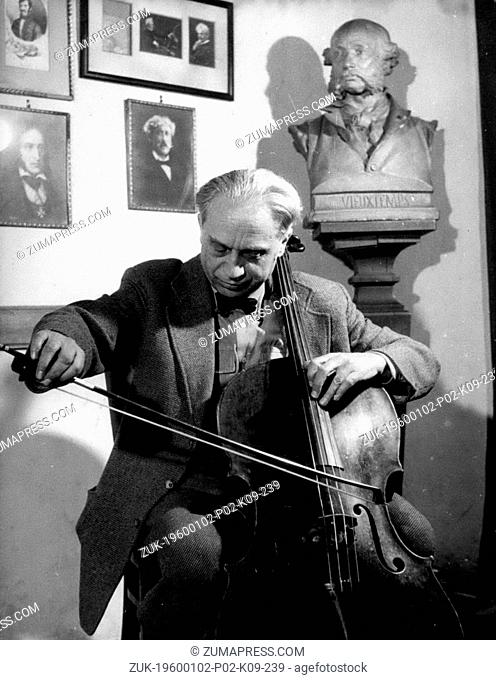 Dec. 19, 2011 - In honour of Pablo Casals will be an international violoncello concert in Paris in June. Member of the jury, which was chosen by Casals himself