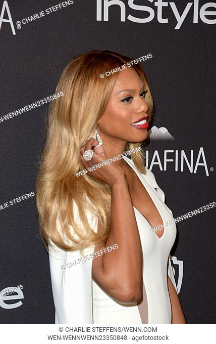 InStyle and Warner Bros 73rd Annual Golden Globes Post-Party at the Beverly Hilton Hotel Featuring: Laverne Cox Where: Los Angeles, California