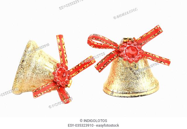 Christmas decoration for tree. Isolated on a white background