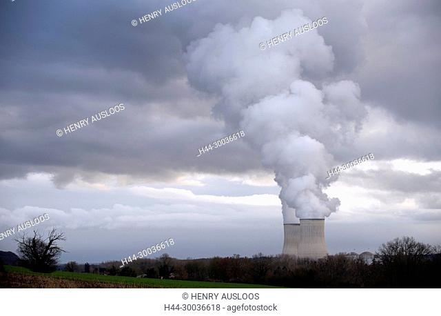France, Vienne, Nuclear power station, Civaux
