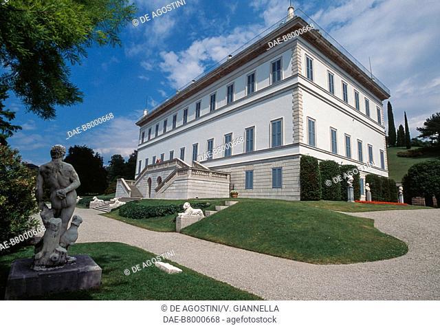 Villa Melzi d'Eril, 1808-1810, Bellagio, Lake Como, Lombardy, Italy, 19th century