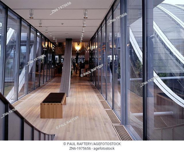 ZENTRUM PAUL KLEE, BERN, SWITZERLAND, RENZO PIANO BUILDING WORKSHOP, INTERIOR, MUSUEM STREET