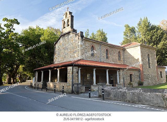 The Church of San Salvador de Deva is a Catholic temple located in the parish of Deva, in the municipality of Gijón (Principality of Asturias, Spain)