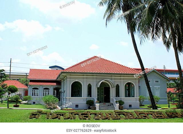 Suan Bua Residential Hall. Asian landmark