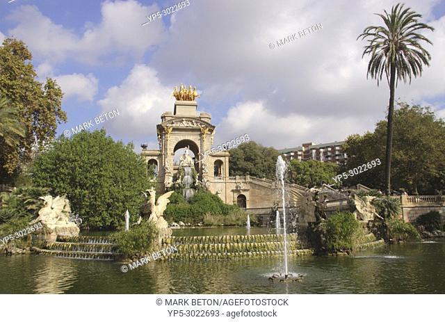 Cascada at Parc de la Ciutadella, Barcelona, Spain